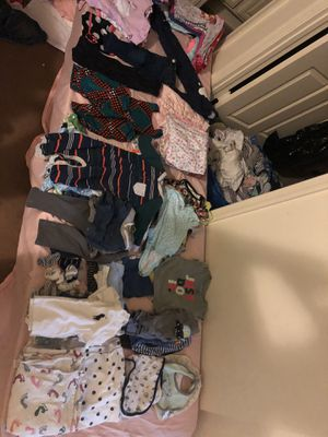 Lots and lots of baby clothes and toys for Sale in Silver Spring, MD