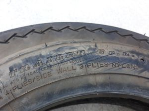 1 new tire 530-12 6 ply trailer tire for Sale in Wilmer, TX