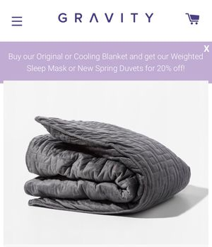 Gravity weighted blanket 15pound with Faux fur cover. Online value $370! for Sale in Winthrop Harbor, IL