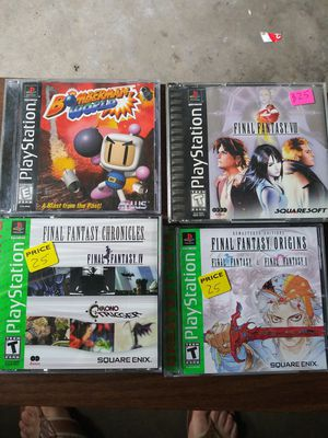 Ps1 games for Sale in Pasadena, TX