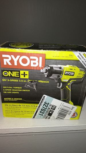 Ryobi Impact Wrench for Sale in Rochester, MI