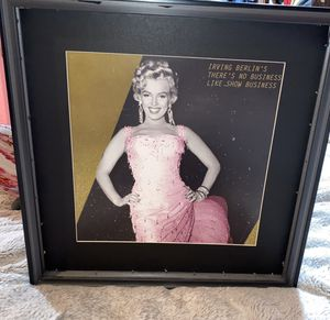 Wall decor/ Marilyn Monroe for Sale in South Gate, CA