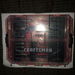 CRAFTSMAN Drill Bit Set, 60 Pieces (CMAF1260) for Sale in Atlanta, GA
