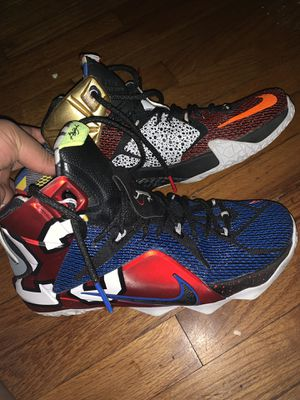 """Nike XII """"what the Lebron"""" for Sale in Jacksonville, FL"""