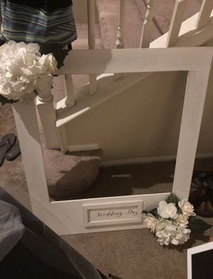 Wedding frame for pictures /photo booth for Sale in Moreno Valley, CA
