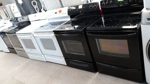 Black Electric stove excellent condition for Sale in Laurel, MD