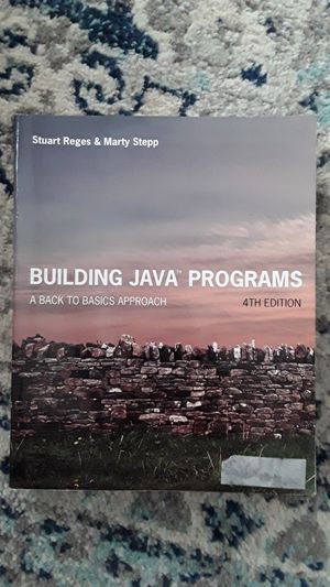 Building java programs 4th edition for Sale in Renton, WA