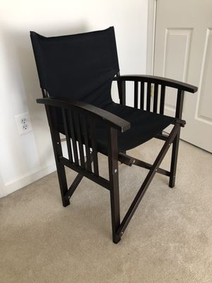 Crate and Barrel Director Chair for Sale in Reston, VA