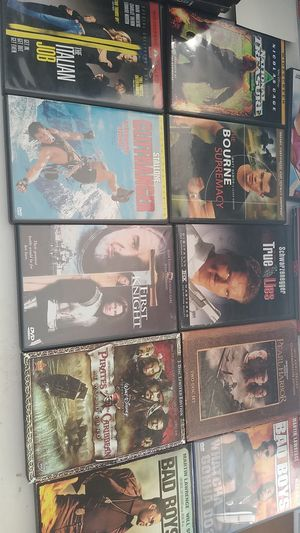 Lot of 10 Action Dvds for Sale in Henderson, NV