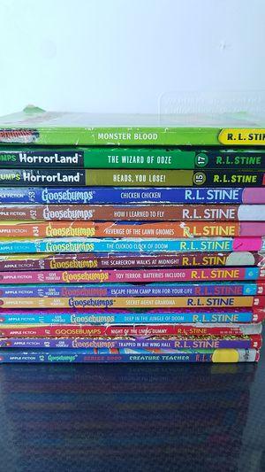 Goosebump book lot for Sale in Seattle, WA