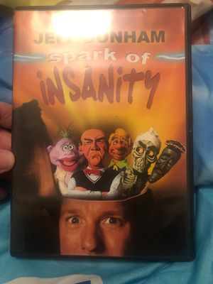 Jeff Dunham spark of insanity dvd for Sale in Spokane, WA