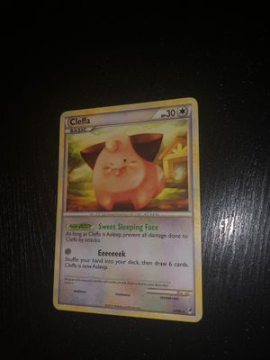 RARE 2011 Cleffa Pokemon Card for Sale in Flower Mound, TX