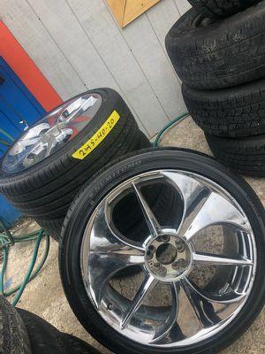Rims and Tires/ Rines y Llantas for Sale in Nashville, TN