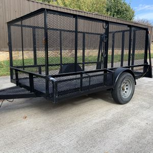 Trailer 5x10 Exelentes Condisiones Factura De Venta for Sale in Irving, TX