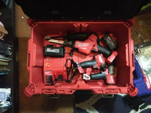 Milkwaukee 4 piece Toolkit for Sale in Austin, TX