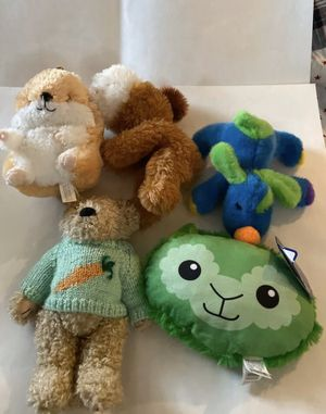 Lot Of 5 Plush Stuffed Toy Animal Kids for Sale in Boca Raton, FL