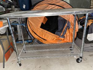 Stainless Rolling Cart for Sale in Wildomar, CA
