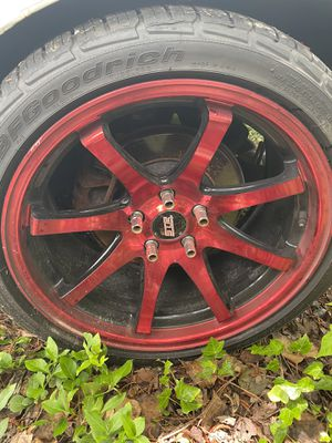 Str wheels 18x9 offset 30 for Sale in North Bethesda, MD