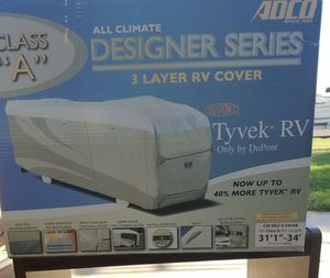 NEW Adco three layer RV cover fits Class A for Sale in Glendale, AZ