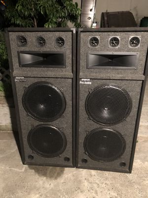 Speakers digital pro audio $200 for Sale in White Plains, NY