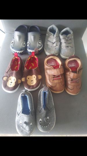 Baby boy shoes size 5 brand name $20 for all for Sale in Miami, FL