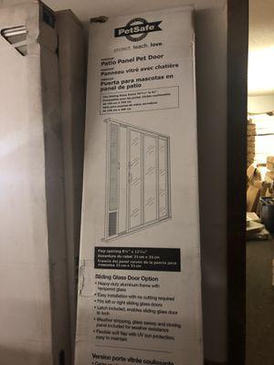 Patio Panel Pet Door for Sale in New Haven, IN