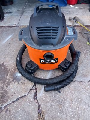 Ridgid 6 Gallon 3.5 Shop Dry Wet Vac for Sale in Tampa, FL