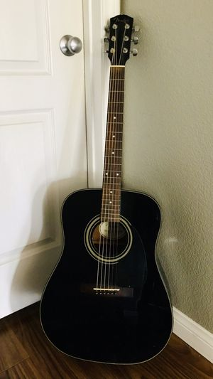 Fender DC-11 Black Acoustic Guitar for Sale in Del Mar, CA