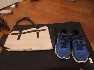 Under Armour shoes kids size 3 purses $5.00 each for Sale in Princeton, WV
