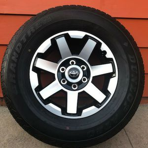 """17 """" TOYOTA WHEELS/RIMS AND TIRES for Sale in San Pablo, CA"""