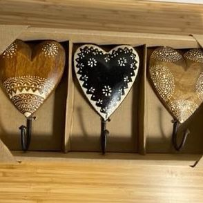 Wooden Heart Hooks for Sale in Virginia Beach, VA