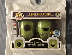 Kang and Kodos funko pop 2 pack sdcc for Sale in Fontana, CA