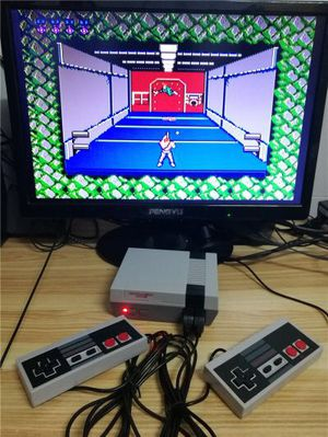 New in box generic classic like nintendo game console built in 620 classic games with 2 controllers included for Sale in Whittier, CA