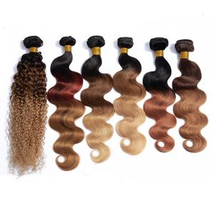 BRAZILIAN OMBRE PRE-COLORED HUMAN HAIR BUNDLES for Sale in Riverview, FL