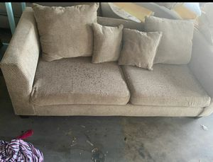Brown couch for Sale in Burleson, TX