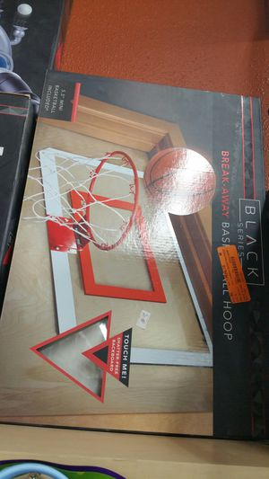 Black Breakaway Basketball Hoop for Sale in Lancaster, CA