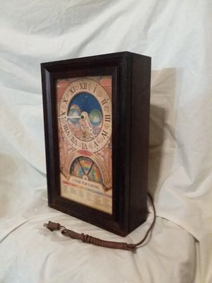 ANTIQUE, NESTLE, 50th ANNIVERSARY CLOCK , COOKING ALMANAC for Sale in Ball Ground, GA
