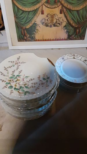 25 plus Antique China Side Plates for Sale in Los Angeles, CA