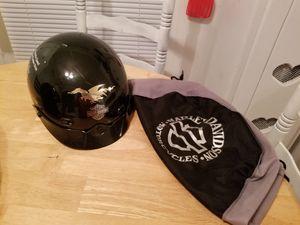 Harley Davidson helmet with bag for Sale in Willacoochee, GA