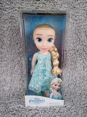 New 14 inch tall Elsa doll shipping only no pickup for Sale in Apalachicola, FL