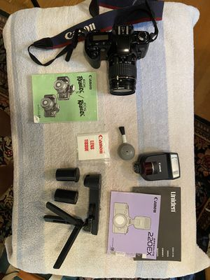 Canon EOS Rebel Xs 35mm film camera for Sale in Portland, OR