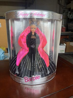 Mattel Happy Holidays S BC pecial Edition Barbie Doll 1998 Blonde Pink Black for Sale in Anaheim, CA