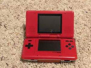 Gameboy DS - Red with games for Sale in Renton, WA
