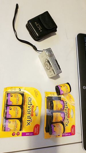 Canon Elph camera with 7 new films! for Sale in Dearborn Heights, MI