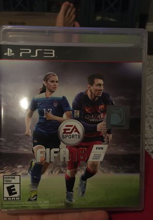Fifa 16 for PS3, like new for Sale in Newcastle, OK
