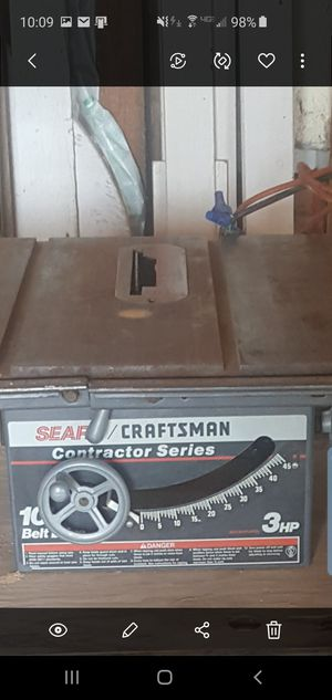 """Sears 10"""" Table Saw for Sale in TRI CITIES, WA"""