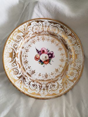 Grainger Lee & co Worcester 1800's cabinet plate for Sale in Anaheim, CA