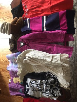 Lot of girls name brand clothes size 7-8, some 6x for Sale in Charleston, WV