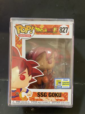 Dragon Ball Z SSG Goku Funko for Sale in San Francisco, CA