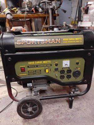 Sportsman 4000 Watt Generator for Sale in Pittsburgh, PA